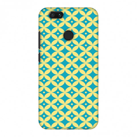 Overlapped Circles 2 Slim Hard Shell Case For Xiaomi MI A1-5X