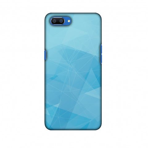 Polygon Fun 5 Slim Hard Shell Case For Oppo Realme C1