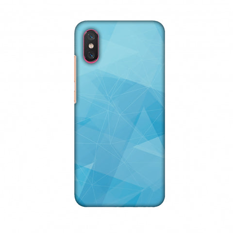 Polygon Fun 5 Slim Hard Shell Case For Xiaomi Mi 8 Pro