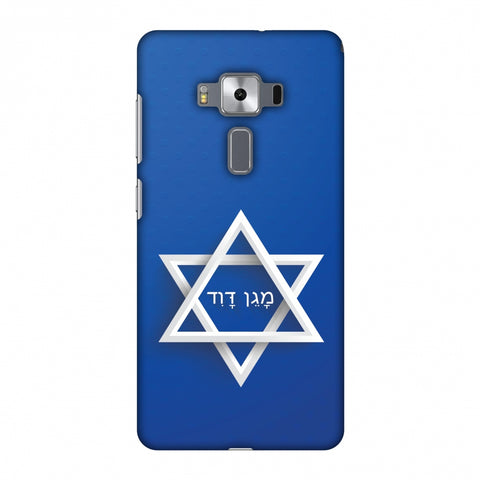 Star Of David Slim Hard Shell Case For Asus Zenfone 3 Deluxe ZS570KL