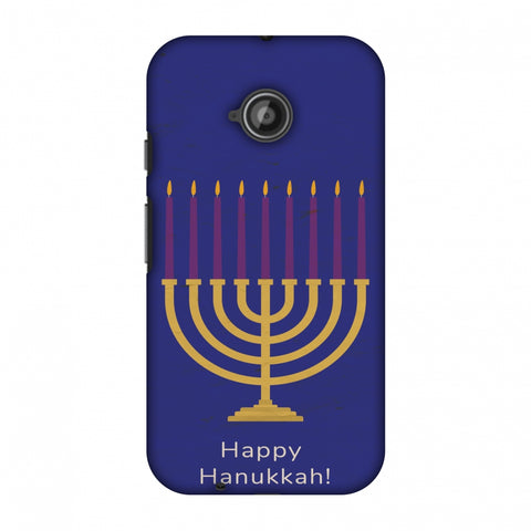 Hanukkah 1 Slim Hard Shell Case For Motorola Moto E 2nd Gen