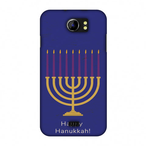 Hanukkah 1 Slim Hard Shell Case For Micromax Canvas 2 A110