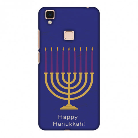 Hanukkah 1 Slim Hard Shell Case For Vivo V3 Max