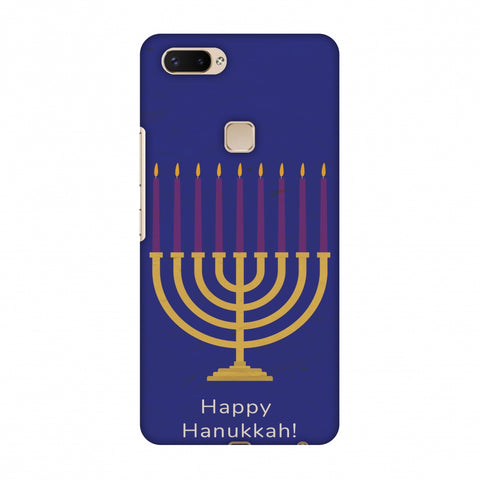 Hanukkah 1 Slim Hard Shell Case For Vivo X20 Plus