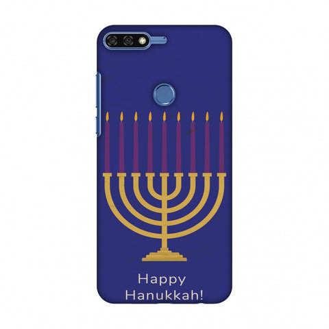 Hanukkah 1 Slim Hard Shell Case For Huawei Honor 7C