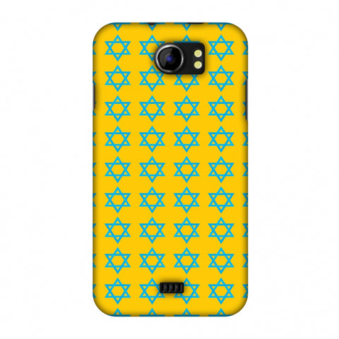 Hanukkah Pattern 1 Slim Hard Shell Case For Micromax Canvas 2 A110