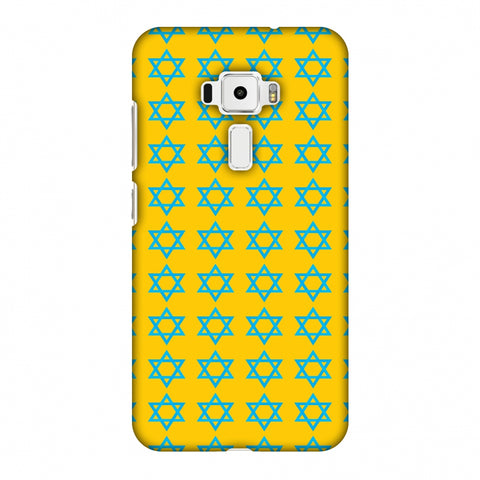 Hanukkah Pattern 1 Slim Hard Shell Case For Asus Zenfone 3 ZE520KL