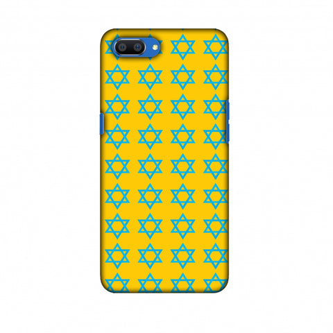 Hanukkah Pattern 1 Slim Hard Shell Case For Oppo Realme C1