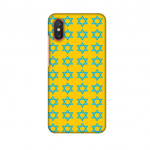 Hanukkah Pattern 1 Slim Hard Shell Case For Xiaomi Mi 8 Pro
