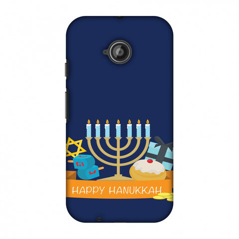 Hanukkah 2 Slim Hard Shell Case For Motorola Moto E 2nd Gen