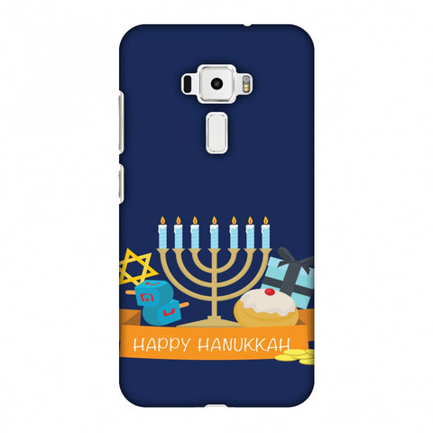 Hanukkah 2 Slim Hard Shell Case For Asus Zenfone 3 ZE520KL