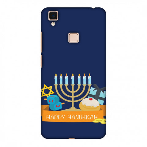 Hanukkah 2 Slim Hard Shell Case For Vivo V3 Max