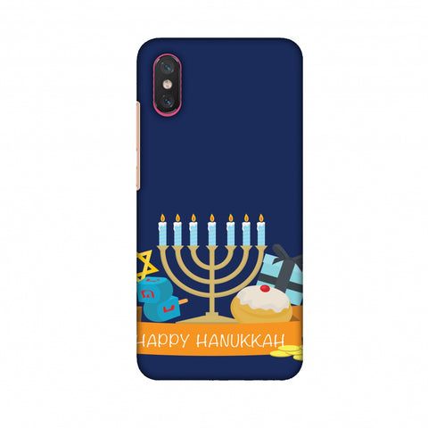 Hanukkah 2 Slim Hard Shell Case For Xiaomi Mi 8 Pro