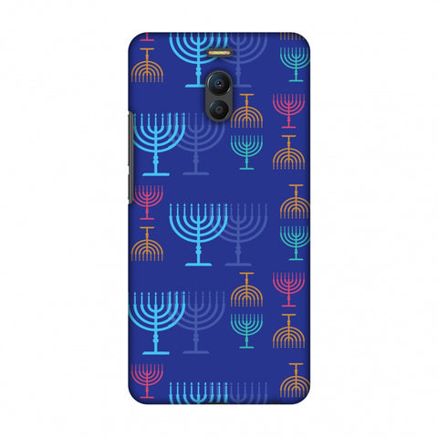 Hanukkah Pattern 2 Slim Hard Shell Case For Meizu Note 6