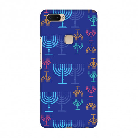 Hanukkah Pattern 2 Slim Hard Shell Case For Vivo X20 Plus