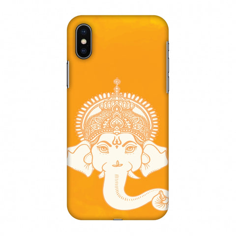 Almighty Ganesha Slim Hard Shell Case For Apple iPhone X