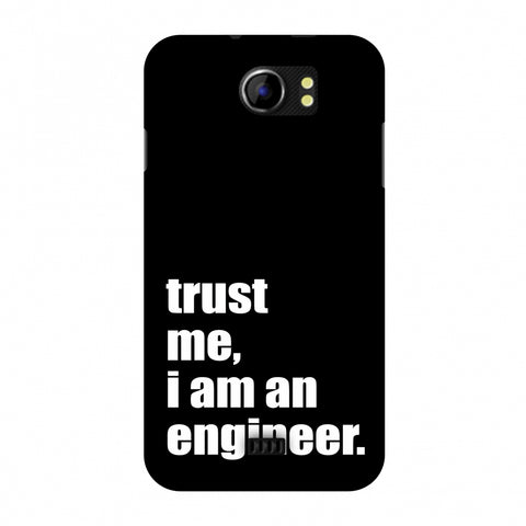 Proud To Be A Engineer 1 Slim Hard Shell Case For Micromax Canvas 2 A110