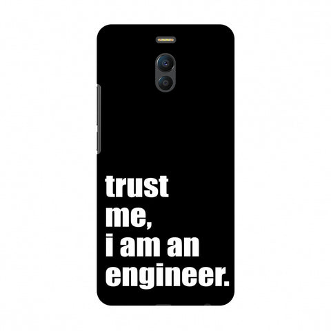 Proud To Be A Engineer 1 Slim Hard Shell Case For Meizu Note 6