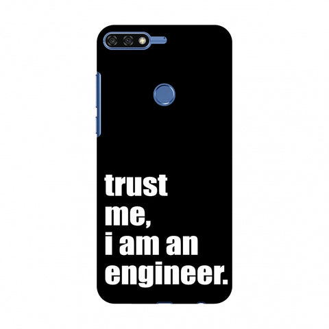 Proud To Be A Engineer 1 Slim Hard Shell Case For Huawei Honor 7C