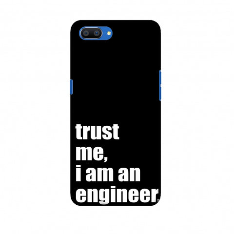 Proud To Be A Engineer 1 Slim Hard Shell Case For Oppo Realme C1