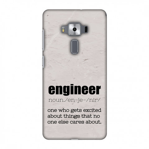 Proud To Be A Engineer 2 Slim Hard Shell Case For Asus Zenfone 3 Deluxe ZS570KL