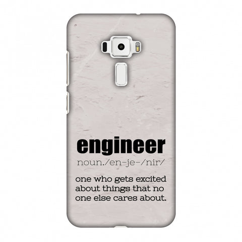 Proud To Be A Engineer 2 Slim Hard Shell Case For Asus Zenfone 3 ZE520KL