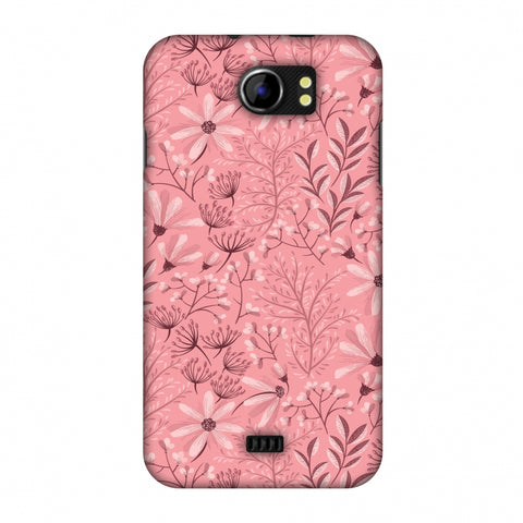 Pretty Flowers 3 Slim Hard Shell Case For Micromax Canvas 2 A110