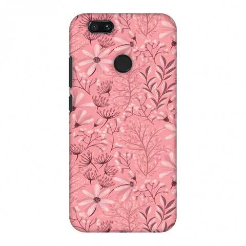 Pretty Flowers 3 Slim Hard Shell Case For Xiaomi MI A1-5X
