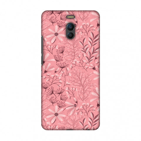 Pretty Flowers 3 Slim Hard Shell Case For Meizu Note 6