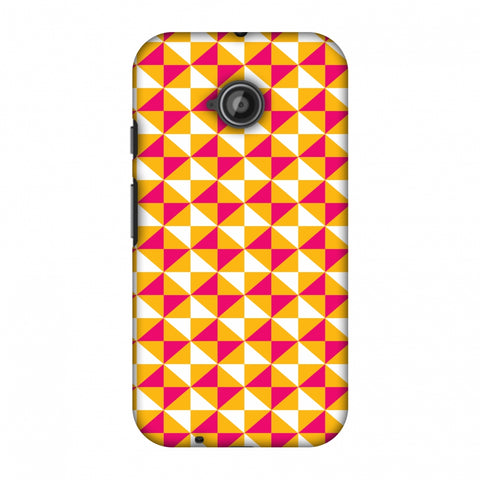 Hexamaze 3 Slim Hard Shell Case For Motorola Moto E 2nd Gen