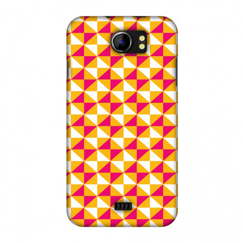 Hexamaze 3 Slim Hard Shell Case For Micromax Canvas 2 A110