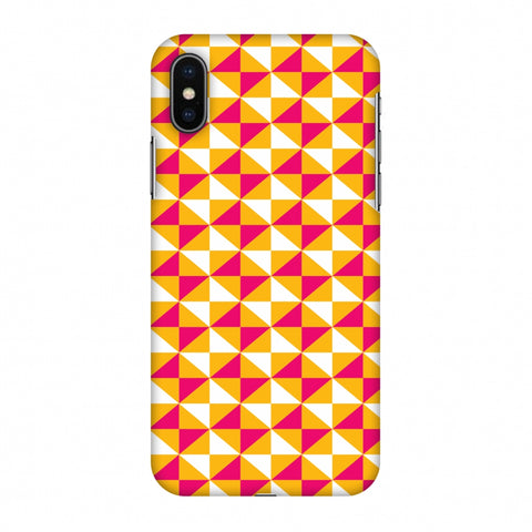 Hexamaze 3 Slim Hard Shell Case For Apple iPhone X