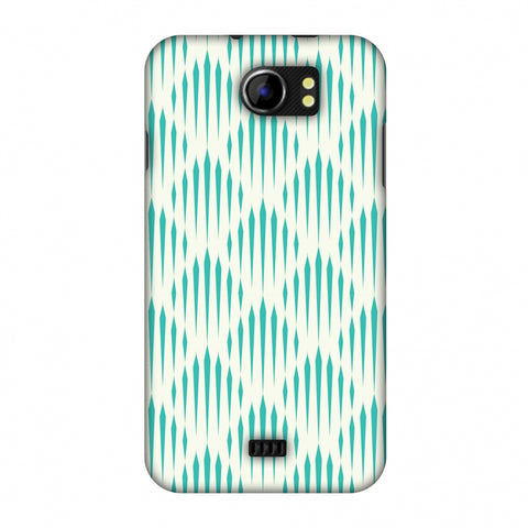 Stripes 1 Slim Hard Shell Case For Micromax Canvas 2 A110