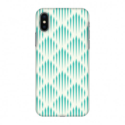 Stripes 1 Slim Hard Shell Case For Apple iPhone X