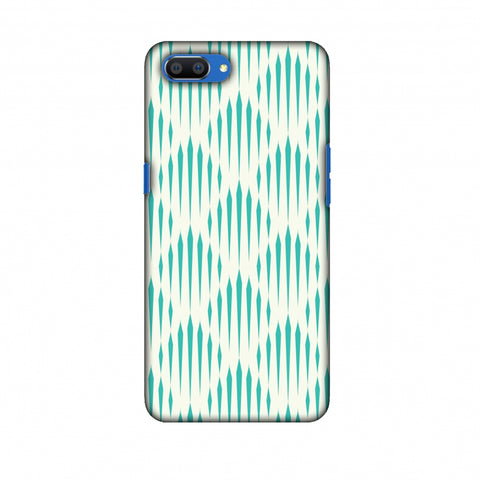 Stripes 1 Slim Hard Shell Case For Oppo Realme C1