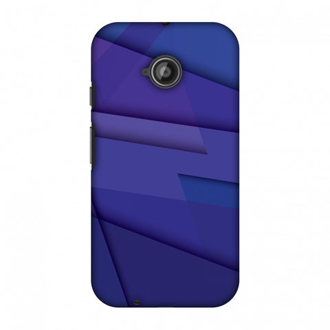 Intersections 8 Slim Hard Shell Case For Motorola Moto E 2nd Gen