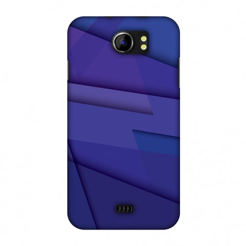 Intersections 8 Slim Hard Shell Case For Micromax Canvas 2 A110