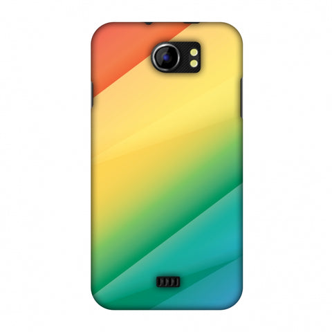 Intersections 9 Slim Hard Shell Case For Micromax Canvas 2 A110