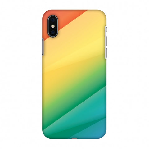 Intersections 9 Slim Hard Shell Case For Apple iPhone X