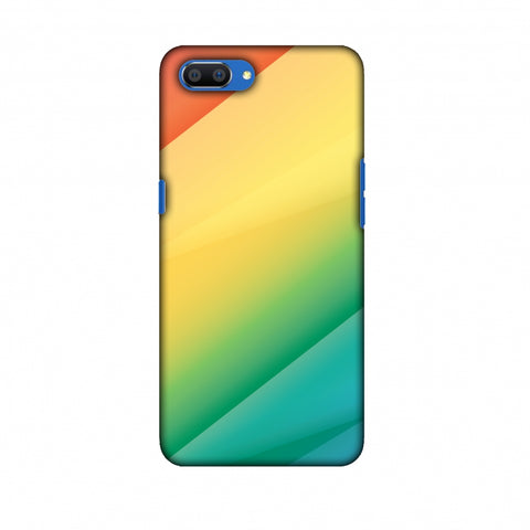Intersections 9 Slim Hard Shell Case For Oppo Realme C1
