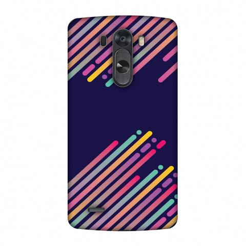 Stripes 2 Slim Hard Shell Case For LG G4