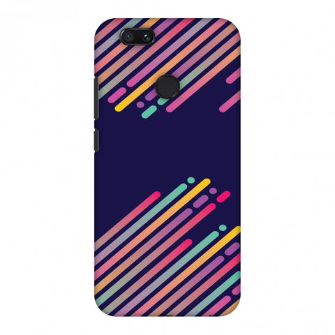 Stripes 2 Slim Hard Shell Case For Xiaomi MI A1-5X