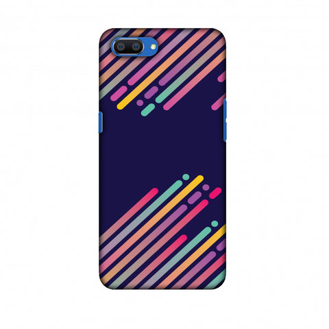 Stripes 2 Slim Hard Shell Case For Oppo Realme C1