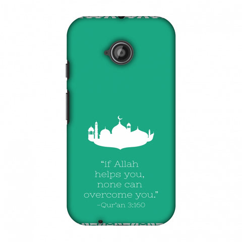 Quran 2 Slim Hard Shell Case For Motorola Moto E 2nd Gen