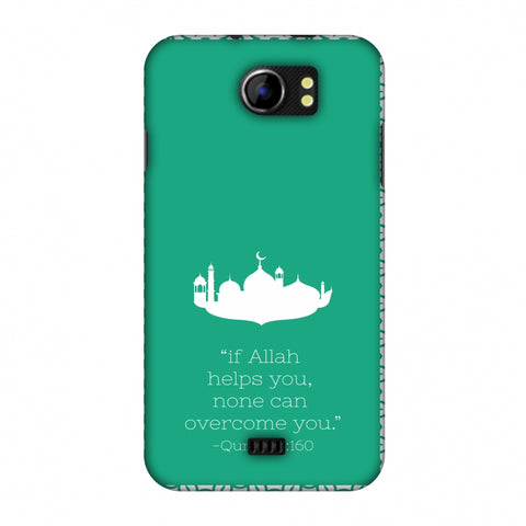 Quran 2 Slim Hard Shell Case For Micromax Canvas 2 A110