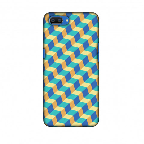 Hexamaze 6 Slim Hard Shell Case For Oppo Realme C1