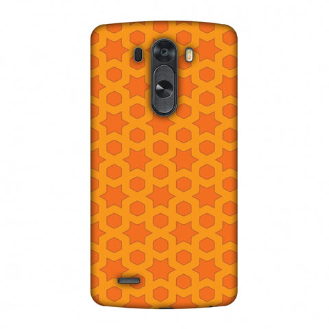 Geometric Flowers 1 Slim Hard Shell Case For LG G4
