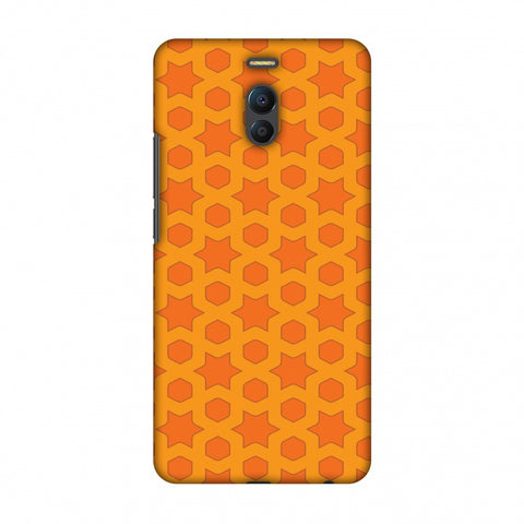 Geometric Flowers 1 Slim Hard Shell Case For Meizu Note 6