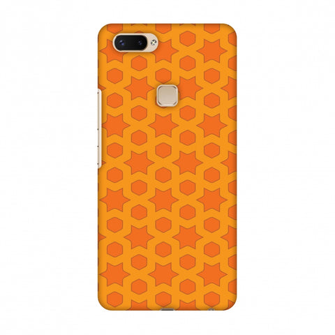 Geometric Flowers 1 Slim Hard Shell Case For Vivo X20 Plus