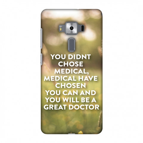 Doctors Quote 2 Slim Hard Shell Case For Asus Zenfone 3 Deluxe ZS570KL